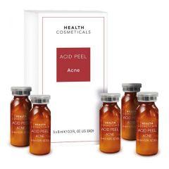 Klapp Acid Peel fiole ser pentru ten acneic 5x8ml