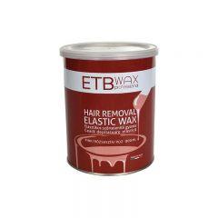 ETb Wax Ceara elastica cu dioxid de titan tip conserva roz 800ml