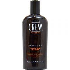 American Crew Hair & Body Gray Shampoo șampon pentru par grizonat 250 ml