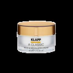 Klapp A Classic Neck & Decollete Cream 50ml