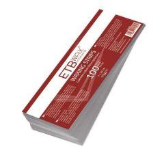 ETB Wax Banda epilatoare 100buc