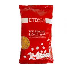 ETB Wax Ceară elastica perle 1kg Galben