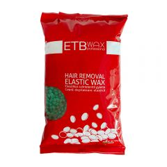 ETB Wax Ceară elastica perle 1kg Verde