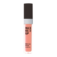 Make up Factory Mat Lip Fluid Longlasting Sheer Nude 12