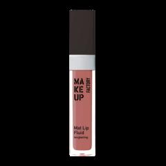 Make up Factory Mat Lip Fluid Longlasting Violet Mauve 52