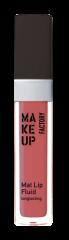 Make up Factory Mat Lip Fluid Longlasting Soft Raspberry 65