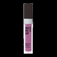 Make up Factory Mat Lip Fluid Longlasting Toxic Violet 84