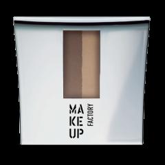 Make up Factory Eye Brow Powder Chocolate Brown 4