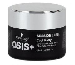Schwarzkopf Professional Osis+ Session Label Coal Putty 65ml