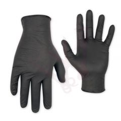 Manusi nitril negru marime M ETB Disposable Set 100buc