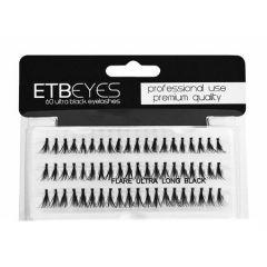 ETB Eyes - gene false grupuri ultra negru 60buc - L