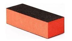 ETB Nails bufer dreptunghiular portocaliu cu 3 fete 35X97X25mm