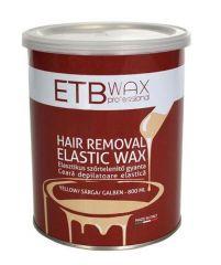 ETB Wax Ceara elastica standard tip conserva galbena 800ml